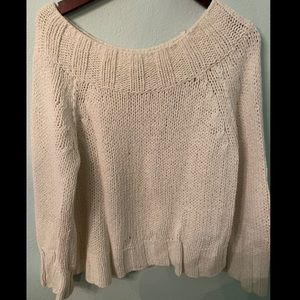 Free People Sweater with Thick Wide Neck